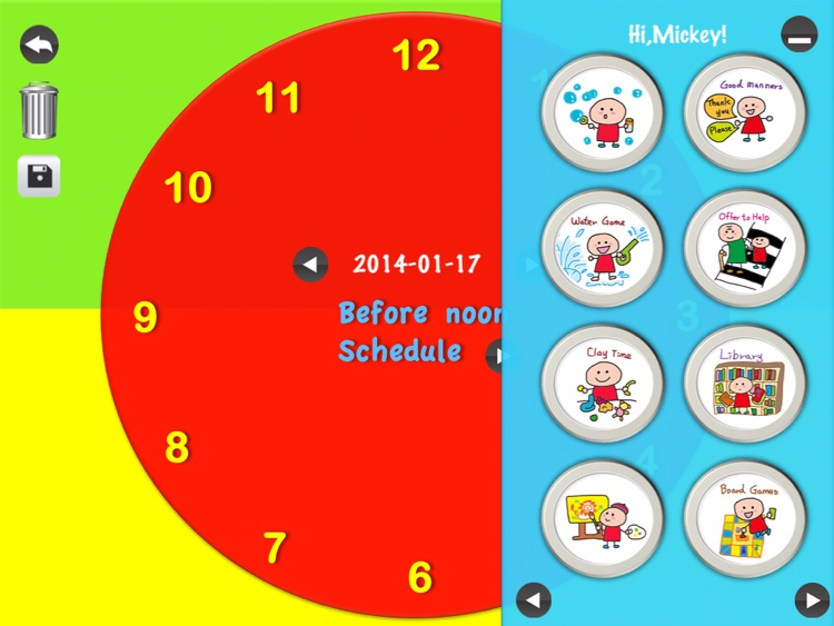Kids schedule & Kids todo list