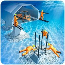 Underwater Road Construction