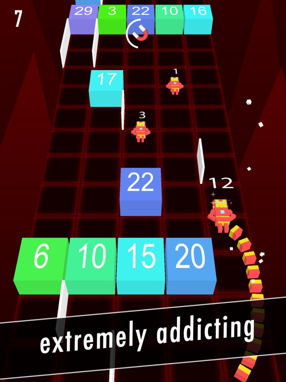Balls Snake-Hit Up Number Cube-ipad-3