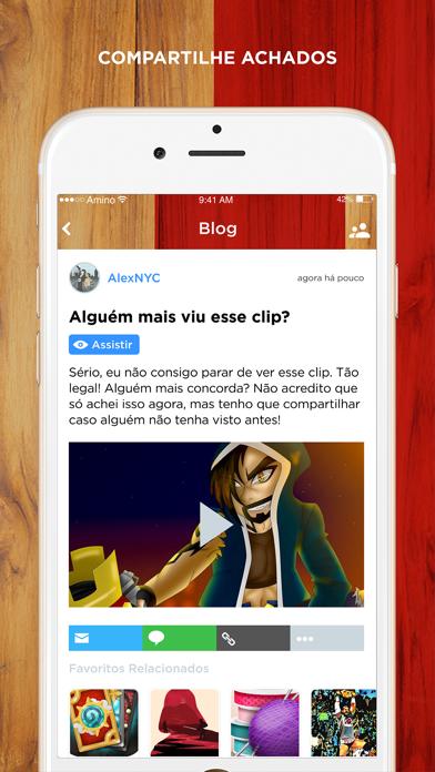 Entre Clãs Amino em Português screenshot four
