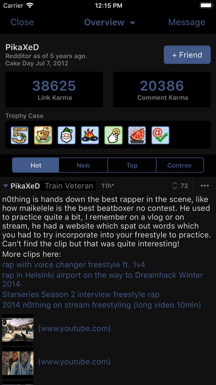 BaconReader for Reddit Screenshot