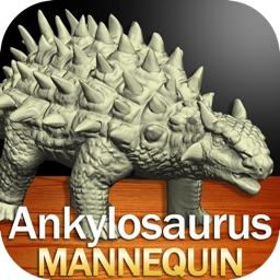 Ankylosaurus Mannequin