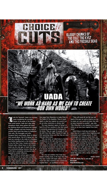 Terrorizer Magazine screenshot-3