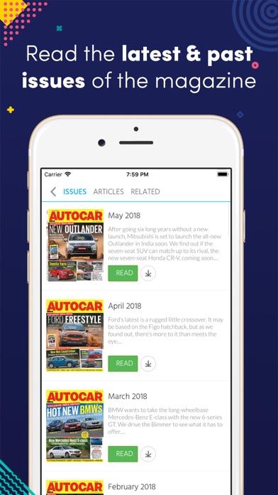 Autocar India Mag screenshot one