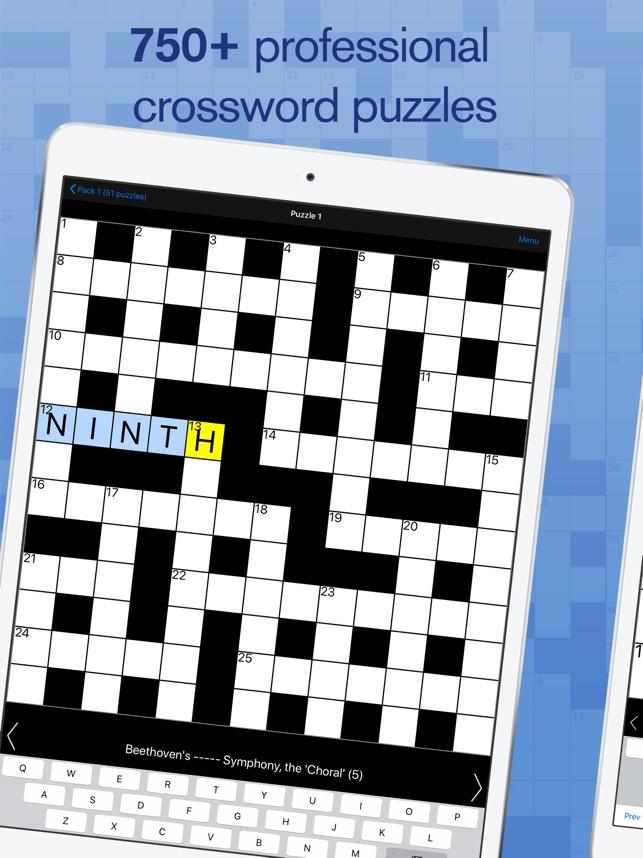 crossword on the app store