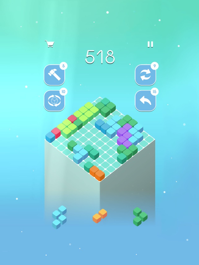 ‎10Cube - Let's fit the cube Screenshot