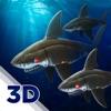 鲨鱼钢铁猛鲨 - 机器人模拟器游戏