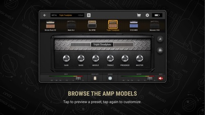 BIAS AMP 2 for iPhone Скриншоты4