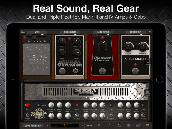 Screenshot #4 pour AmpliTube MESA/Boogie