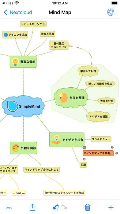 SimpleMind - マインドマッピング ScreenShot0
