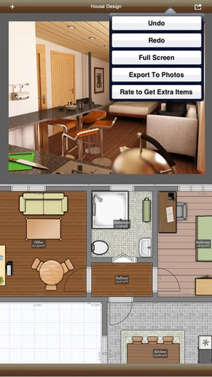 Interior Graphic - floor plans