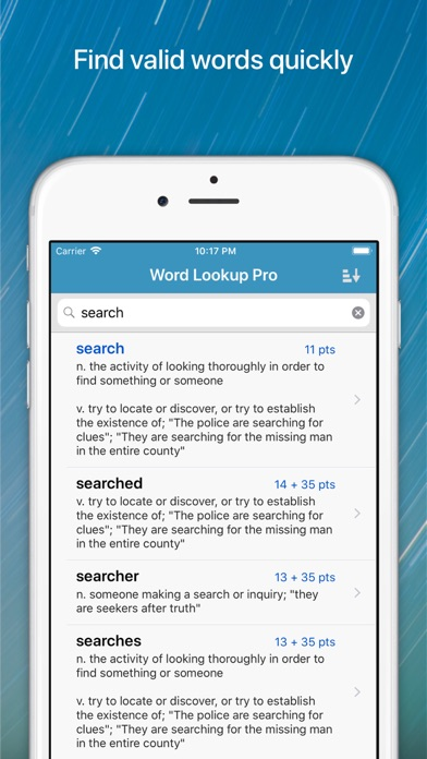 Word Lookup Pro screenshot1