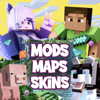 Skins Maps Mods for Minecraft
