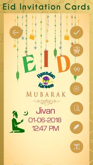 Eid Invitation Cards Creator On The App Store