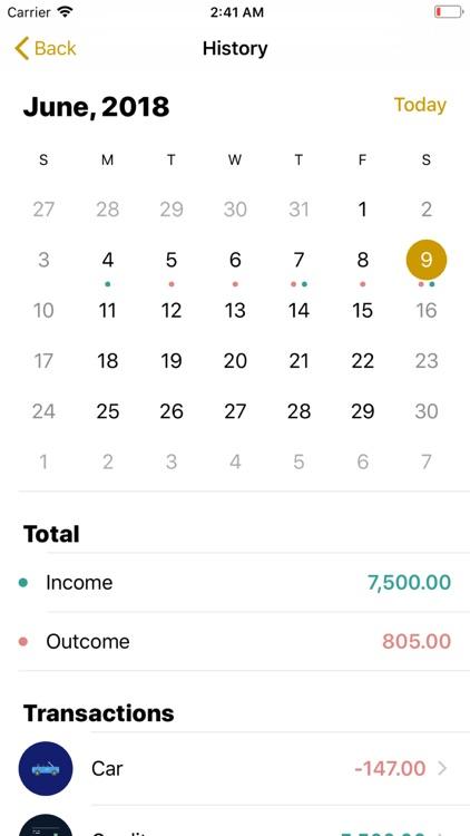 Accounting of finances - BM screenshot-3