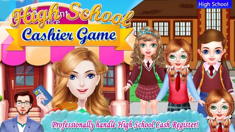 High School Cashier Game