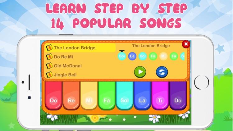 Happy Piano - Drum & Xylophone screenshot-3