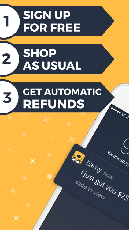 Earny: Automatic Cash Back