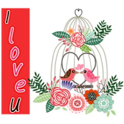 Flowers And Feeling Sticker