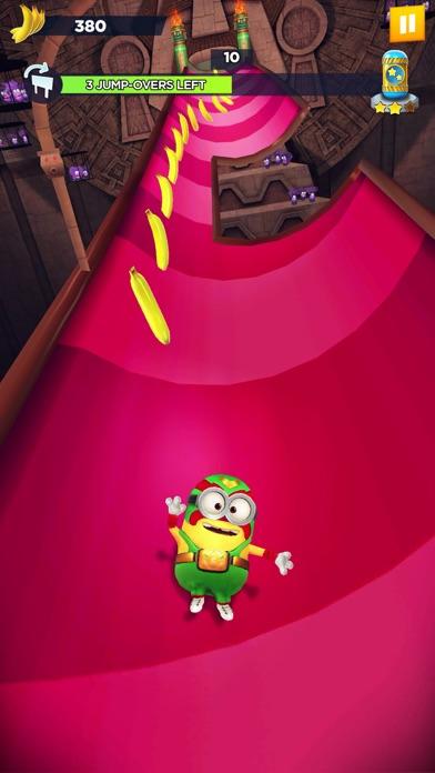 Screenshot from Minion Rush