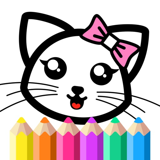 Coloring Games for Girls 2-6