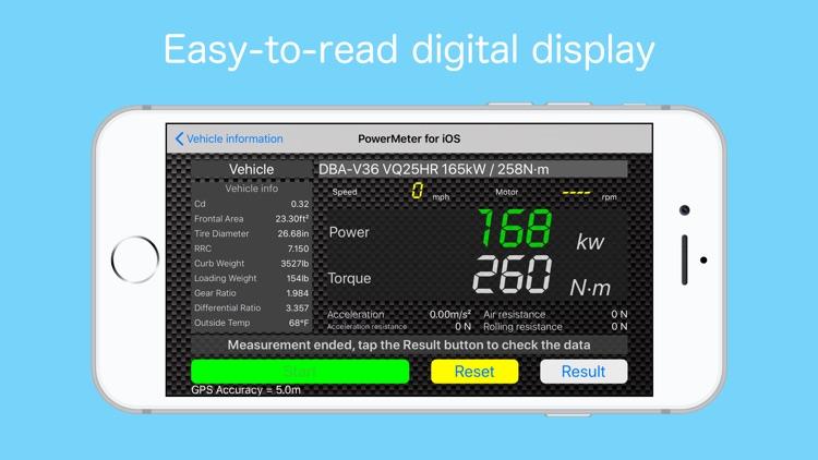 Vehicle Power Meter