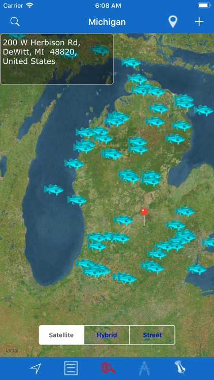 Michigan: Lakes and Fishes screenshot-4