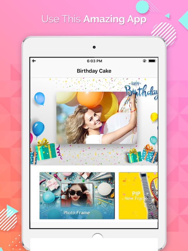 Birthday Cake Photo Frames on the App Store