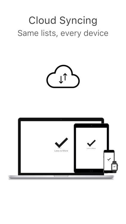 MinimaList- To Do List &Widget screenshot-9