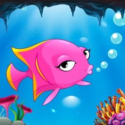 Fish Run Underwater