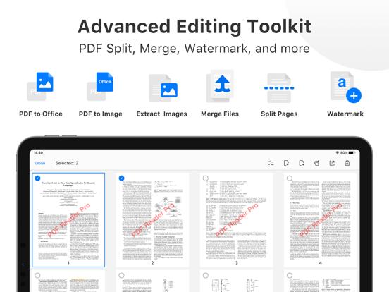 PDF Reader Pro - Sign,Edit PDF Screenshots