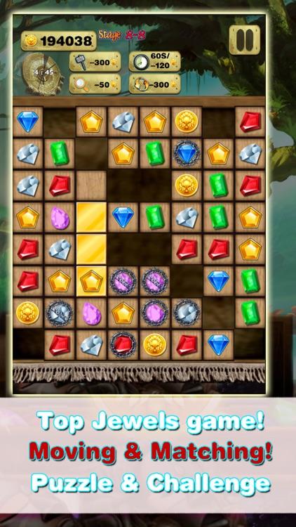 Gem Quest - Jewel Games Puzzle