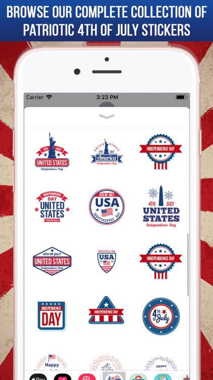 4th Of July Greeting Stickers screenshot-5
