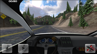 Screenshot from Devil's Peak Rally
