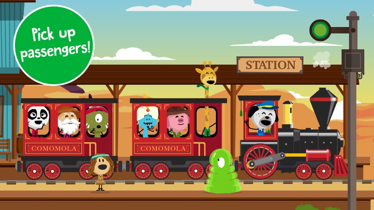 Comomola Far West Train screenshot-0