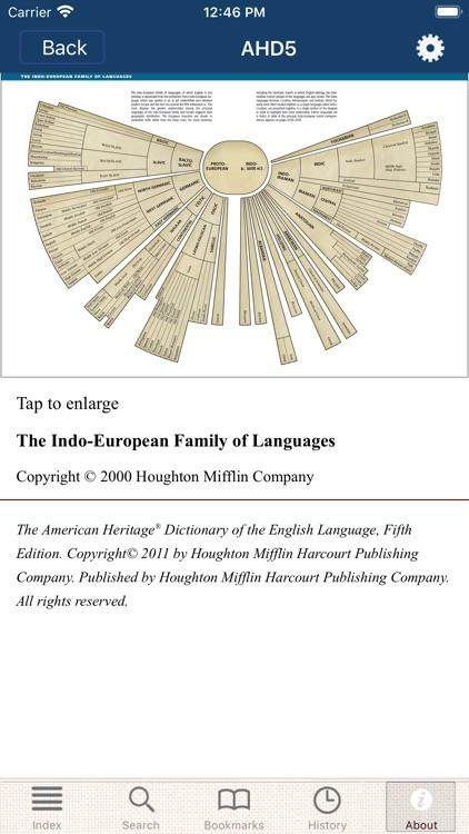 American Heritage Dictionary 5 screenshot-7