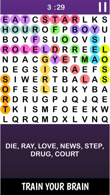 Infinte Crossword Puzzle Game screenshot-4