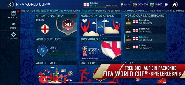 FIFA Fußball: FIFA World Cup™ Screenshot