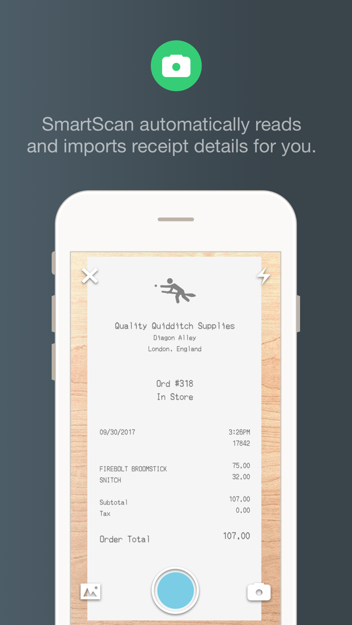 Expensify: Receipts & Expenses Screenshot