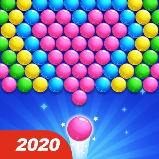 バブルポップ:ラッキーバブル射撃