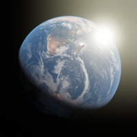 App Icon Earth Impact