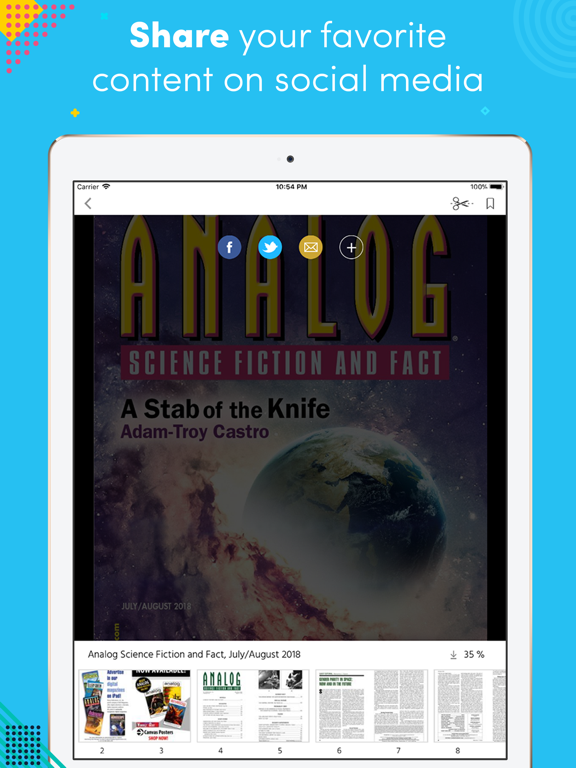 Analog Science Fiction andFactのおすすめ画像3