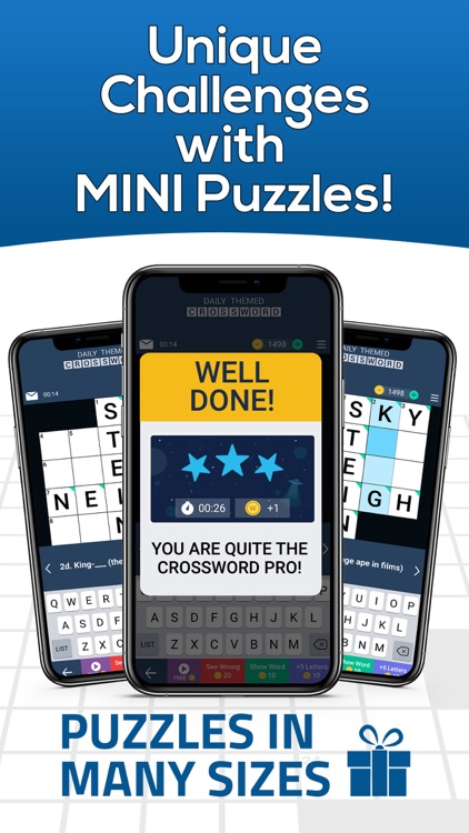Daily Themed Crossword Puzzles screenshot-3