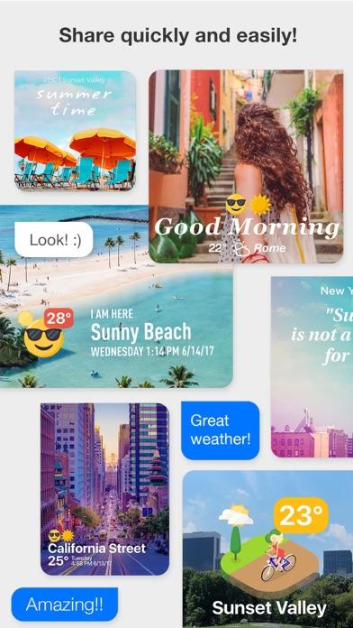 WeatherShot Pro screenshot1