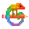 Pixel Art - Colour by Number