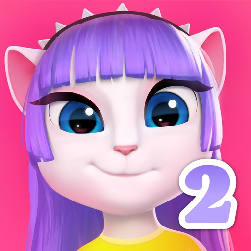 My Talking Angela 2 free software for iPhone and iPad