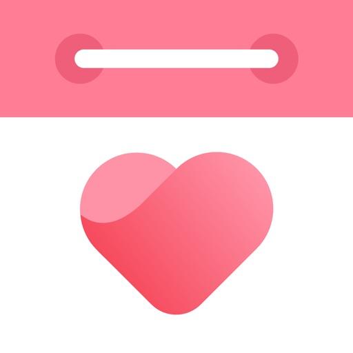 恋しての記念日 - 恋して何日 · カップルアプリ