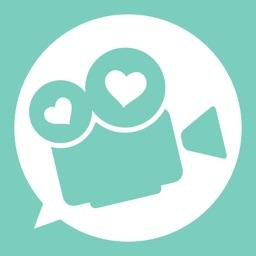 ビデオ通話で理想の関係-ビデオデートは大人広場