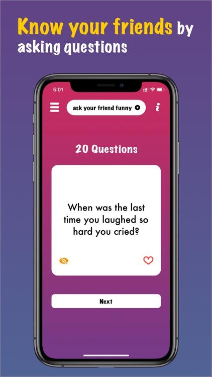 Party Games 20 & 21 Questions screenshot-7