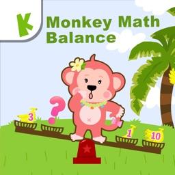 Monkey Math Balance for Kids